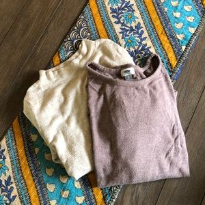Sweater bundle from H&M and Old Navy